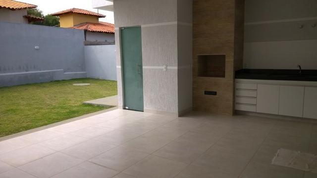 Samuel Pereira oferece Casa Moderna Alto da Boa Vista 3 Suites Churrasqueira Financia FGTS - Foto 17