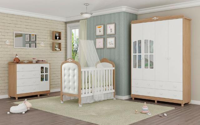 Luxo * Quarto Infantil Completo ELO Com Captone