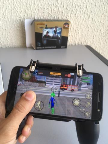 Game Pad L1 R1 para Celular Smartphone IPhone Samsung Android PUBG