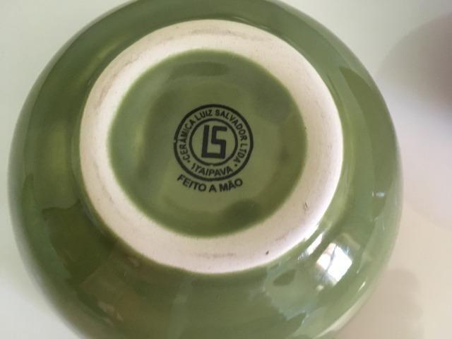 Potes de cerâmica Luiz Salvador feitos à mão - Foto 6