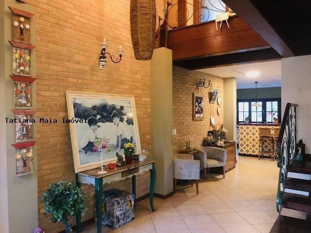 Vende Casa Cond. Fechado em Candelária 3 Suítes 5 Wc 320 mts² Dep.Comp - Foto 10