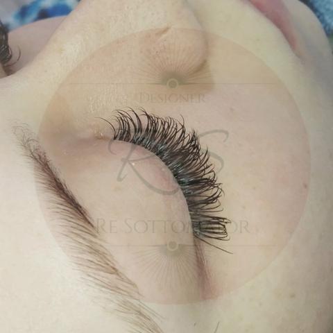Extensão de cílios e design de sobrancelha - Foto 4