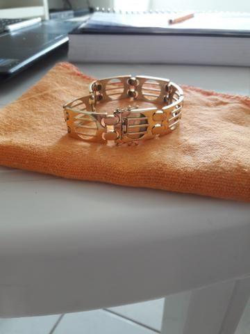 Bracelete de ouro 18k - Foto 4