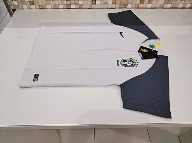 Camisa Brasil Goleiro Cinza 18/19 - Foto 5