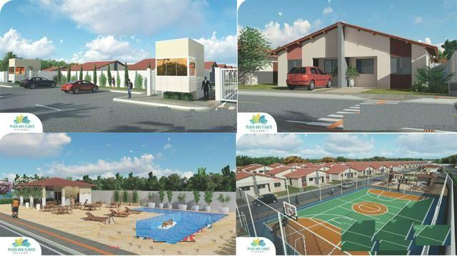 11- casas com entrega em Junho de 2020 com entrada a partir de 200 reais