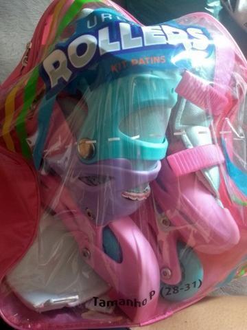 Patins roller infantil - Foto 5