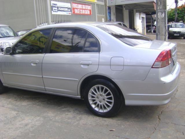 Honda Civic 1.7 Ex Automático 2005/2005 Simone * - Foto 8