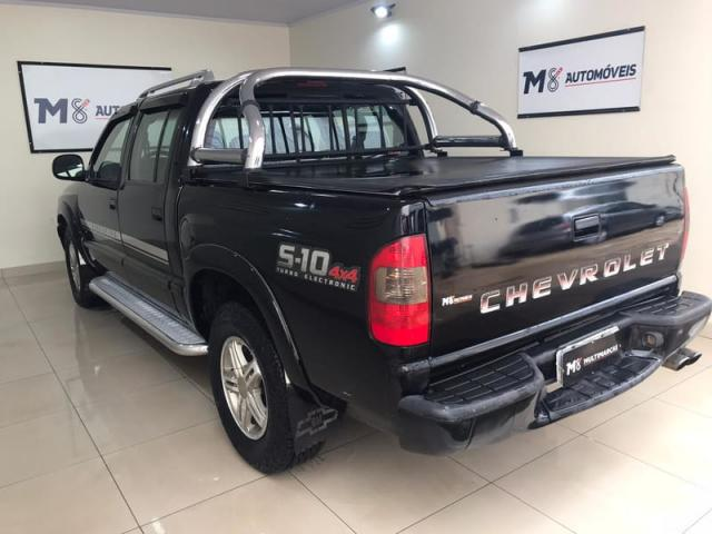 CHEVROLET S10 EXECUTIVE 2.8 DIESEL 4X4 MANUAL COMPLETO 2006 - Foto 6