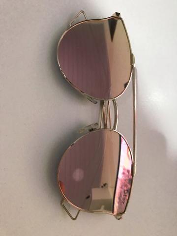 7e12b091f Óculos de sol Rose gold espelhado - Bijouterias, relógios e ...