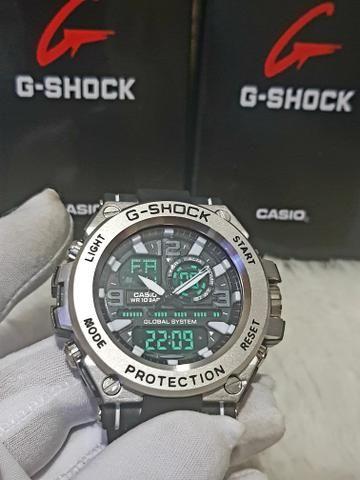 820dc51bca1 Relógio A Prova D água Casio G-SHOCK - Bijouterias