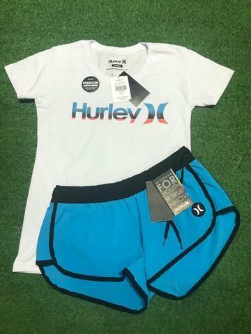 Short Hurley feminino ACEITO CARTÃO - Roupas e calçados - Vila Três ... b46dcef7e8e