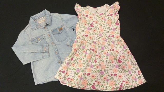 Lote de roupas menina tamanhos 3 e 4 pouco uso - Foto 3