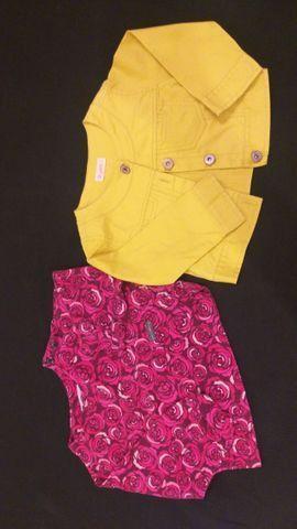 Lote de roupas menina tamanhos 3 e 4 pouco uso - Foto 2