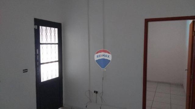 Casa 02 dormitórios e/ou salão comercial, locação, R$ 900,00 cada, Cosmópolis, SP - Foto 5