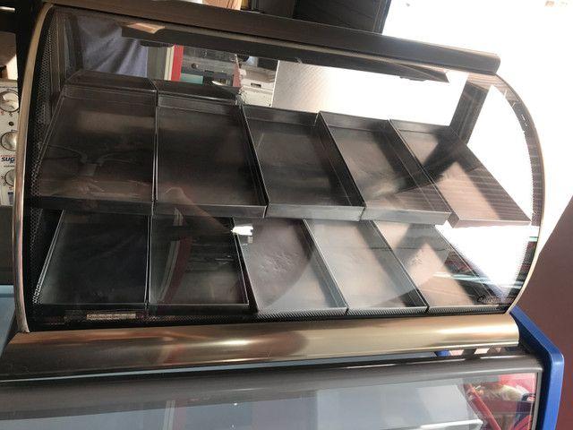 Estufa omega vidro curvo 10 bandeijas