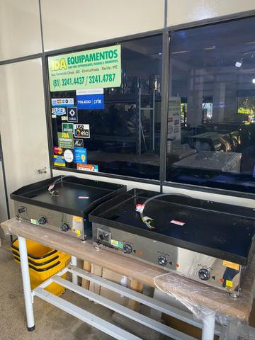 Chapas elétrica / gás - para restaurantes, Hambúrgueria -A gás a partir de r$ 1.630,00 - Foto 3