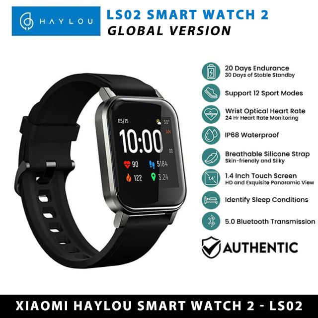 Relógio Inteligente Haylou Ls02 Smartwatch Global - Foto 3
