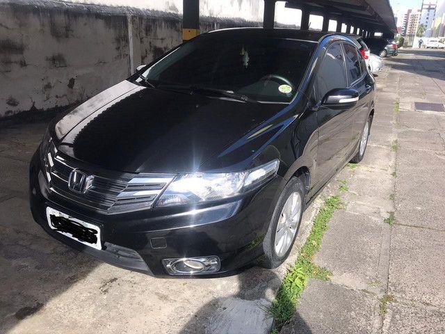 Vendo honda city lx aut 1.5 12/13 particular - Foto 3