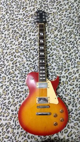 Guitarra Les Paul GG1 Sunburst SX - Foto 6