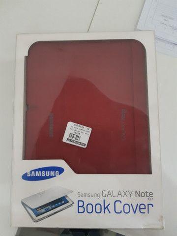 Capa Original Samsung Book Over Samsung Galaxy Note 10.1 - Foto 4