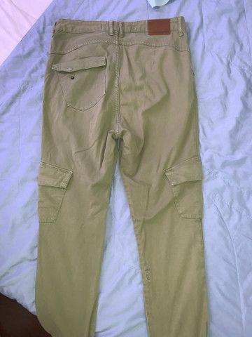 Calça verde musgo - Foto 2
