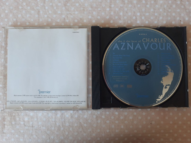 CD The Best of Charles Aznavour - She - Foto 3