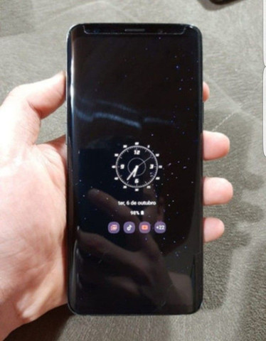 Samsung galaxy s9 plus 128 gb nota garantia  zero - Foto 2