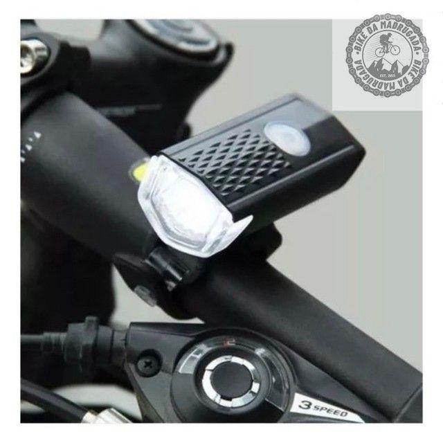 Promoção Farol lanterna de LED para bicicleta bike ciclismo - Foto 2