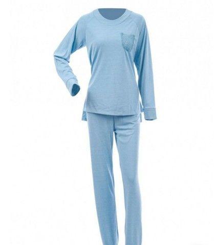 Pijamas Aime novos molicoton suedine presente dia das mães - Foto 5