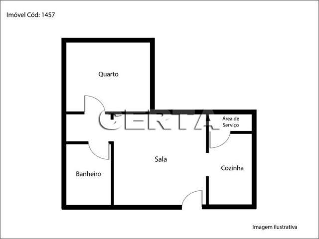 Apartamento para alugar com 1 dormitórios em Santana, Porto alegre cod:L01457 - Foto 11