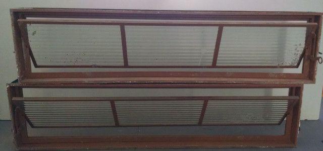 Janela Basculante de Aço 1,44x0,35m