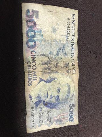 Vendo 5 mil CRUZEIROS , Nomeado Carlos Gomes