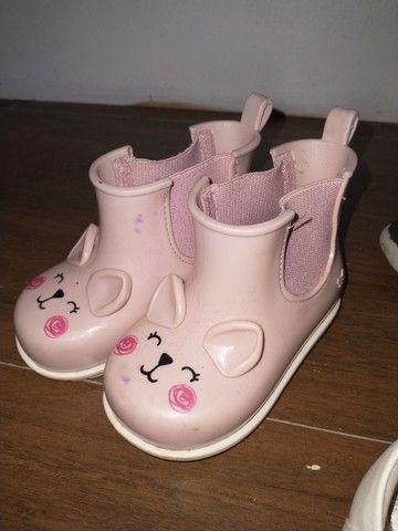 Sapatos menina 1, 2 anos - sandálias, botas, tênis - Foto 4