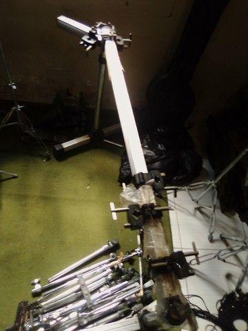 Rack + 6 clamp de bateria