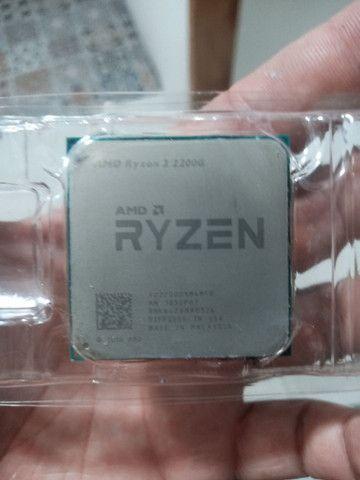Vendo Ryzen 3 2200g 3.5GHZ Vídeo Integrado - Foto 2