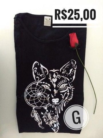 T-shirt / Blusas Femininas - Foto 5