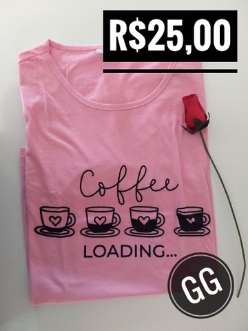 T-shirt / Blusas Femininas