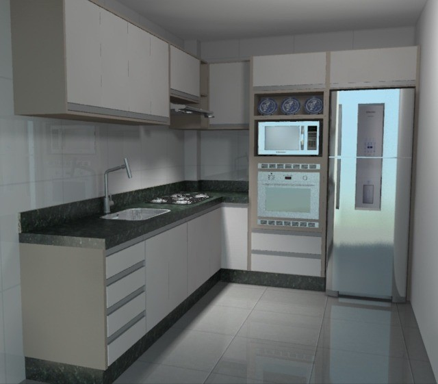 apartamento semi mobiliado novo - Foto 6