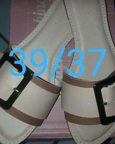 Calçados ponta de estoque