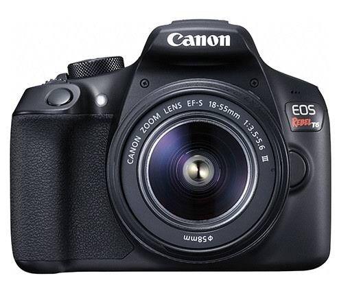 Câmera profissional T6