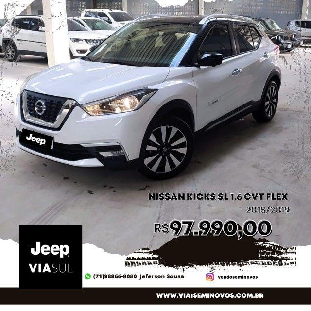 Nissan Kicks SL 1.6 CVT 2019 Jeferson *