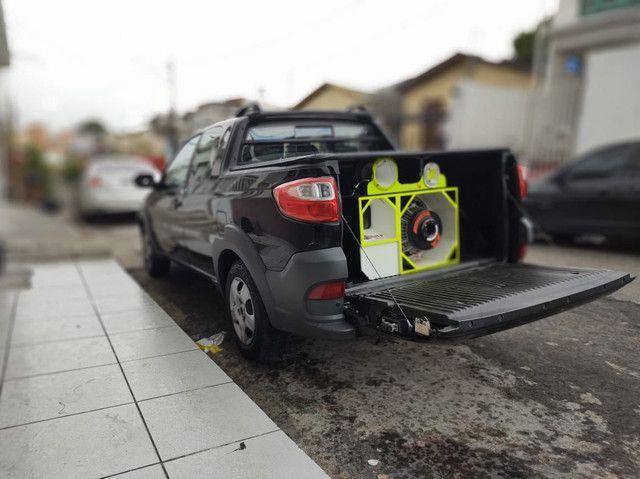 Som automotivo trio R$4,500, * - Foto 2