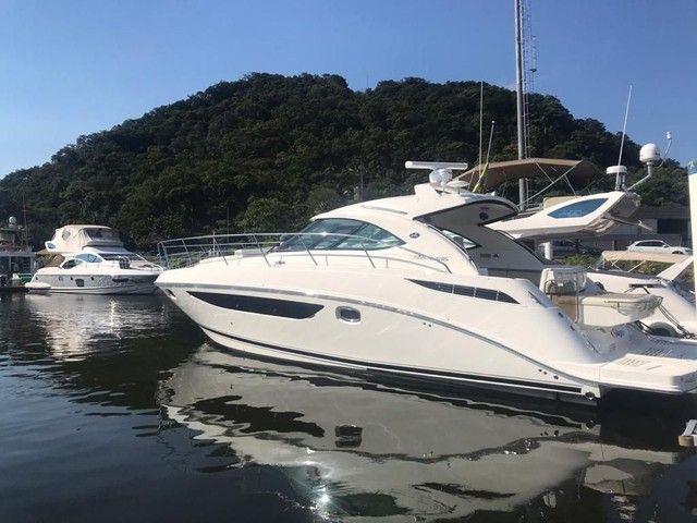 Sea Ray 410 Ano 2014 x2 Cummins 480 HP não Sessa Phantom Armatti Real