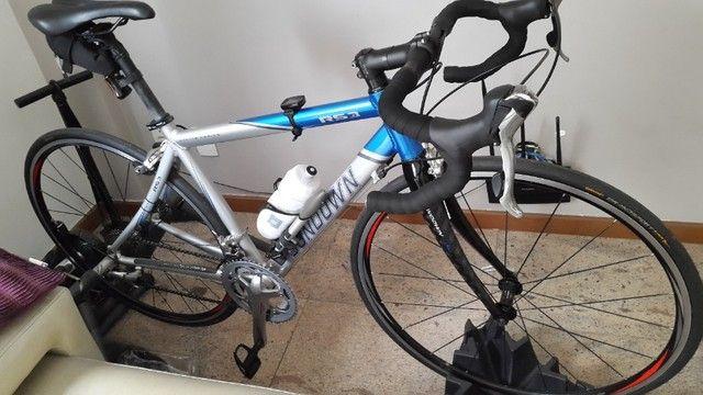 Bike Speed Sundown Competição - Shimano Tiagra - Garfo Fibra de Carbono - Super Nova - Foto 3