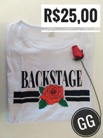 T-shirt / Blusas Femininas - Foto 2