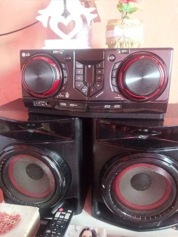 Aparelho de som potente é novo da LG 440wRMS * - Foto 3