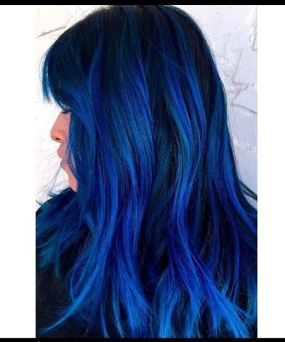 Tinta Cabelo Azul Royal Coloração Hidratylife Mairibel 60g - Foto 4