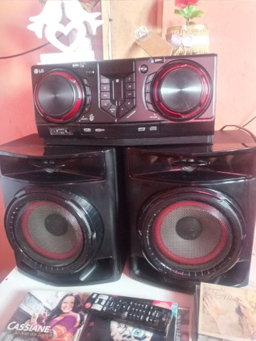 Aparelho de som potente é novo da LG 440wRMS *