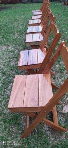Fabrico e Vendo Mesinhas com cadeiras! Faça já seu orçamento. - Foto 4