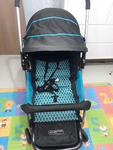 Conjunto Carrinho de bebê + bebê conforto